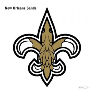 New Orleans Saints Pokemon