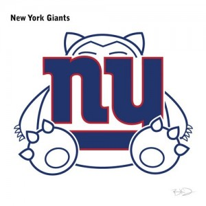 new york giants pokemon