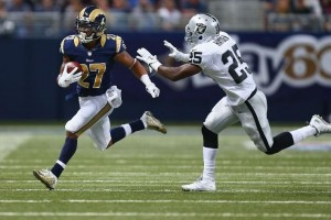 fantasy review tre mason x raiders