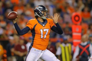 Brock Osweiler assina com o Houston Texans