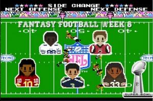 fantasy football semana 8