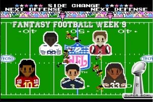 fantasy football semana 9