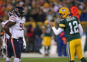 fantasy review aaron rodgers x bears