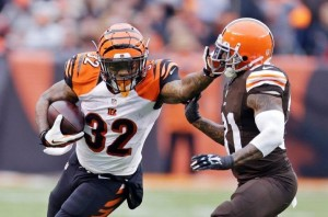 fantasy review Jeremy Hill x browns