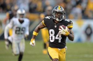 fantasy review week 9 antonio brown